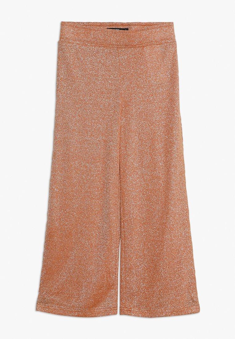 LMTD - NLFJULIA WIDE CULOTTE PANT - Trousers - sun orange