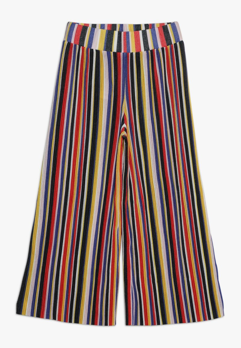 LMTD - NLFKIMBERLY WIDE PANT - Trousers - sky captain/multicolor