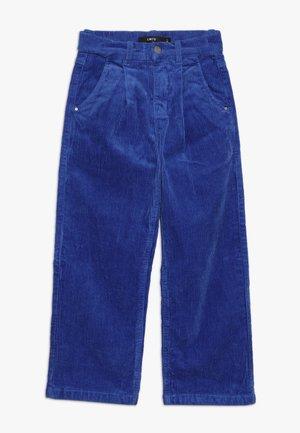 NLFBANICKA WIDE PANT - Pantalones - dazzling blue