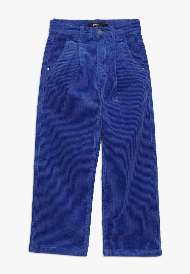NLFBANICKA WIDE PANT - Trousers - dazzling blue