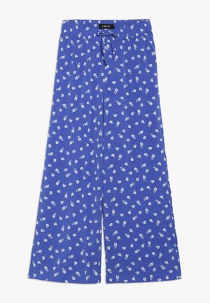 NLFLALA WIDE PANT - Pantalon classique - dazzling blue/bright white