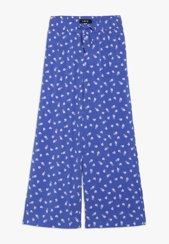 NLFLALA WIDE PANT - Broek - dazzling blue/bright white