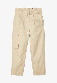 LMTD - TAILLEN - Cargo trousers - white pepper - 0