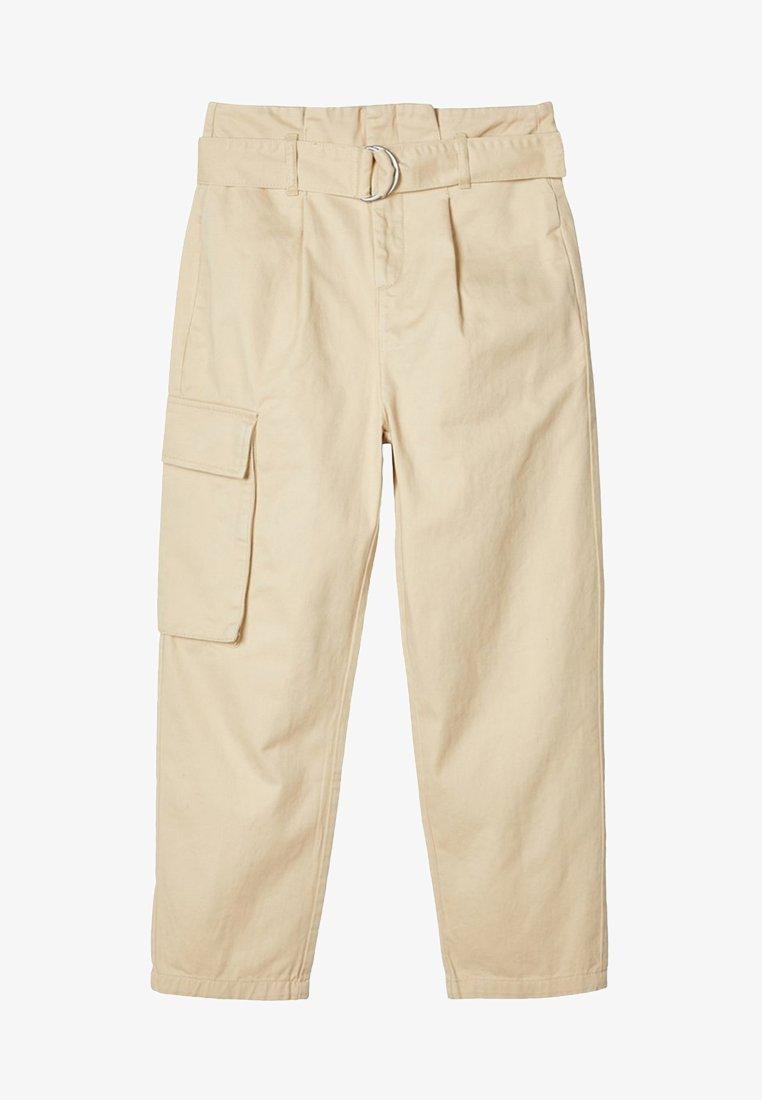LMTD - TAILLEN - Cargo trousers - white pepper