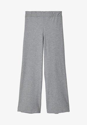 MIT WEITEM BEIN 7/8-ÄRMEL - Spodnie materiałowe - dark grey melange