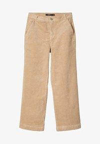 LMTD - MIT WEITEM BEIN HIGH WAIST CORD - Pantalones - brown - 0