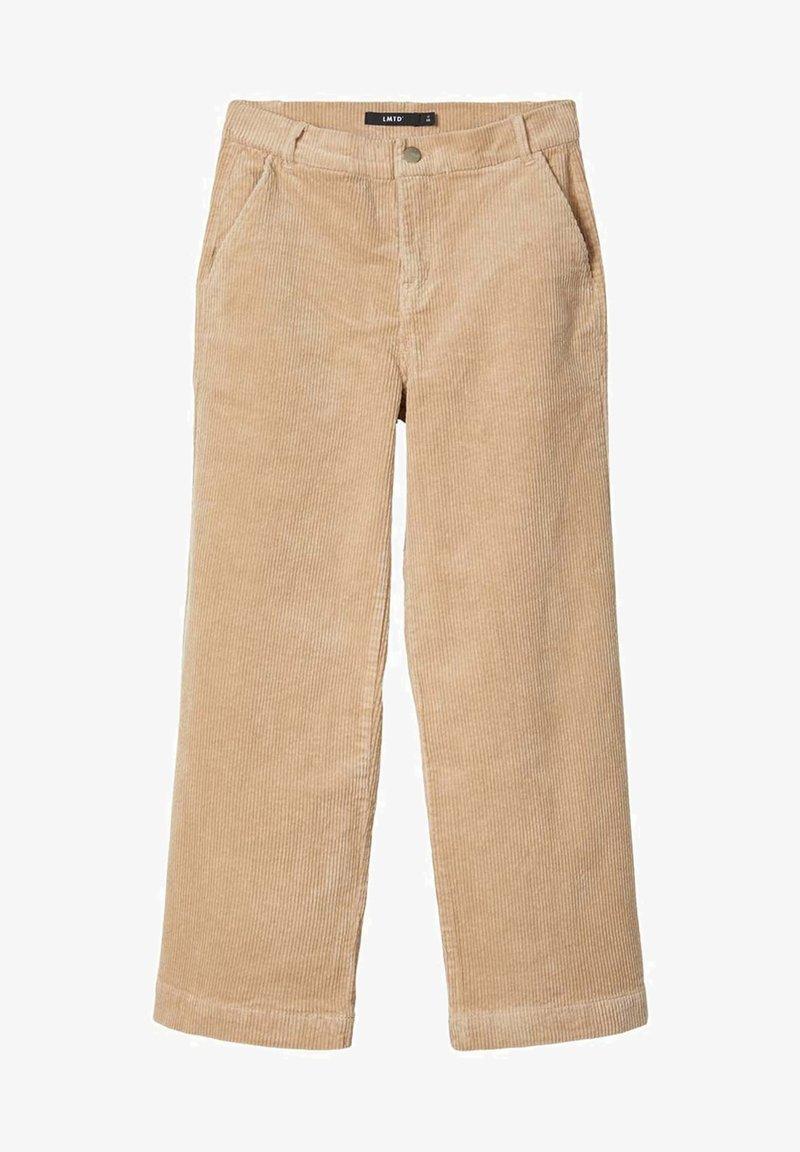 LMTD - MIT WEITEM BEIN HIGH WAIST CORD - Pantalones - brown