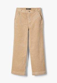 LMTD - MIT WEITEM BEIN HIGH WAIST CORD - Pantalones - brown - 1