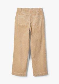 LMTD - MIT WEITEM BEIN HIGH WAIST CORD - Pantalones - brown - 2
