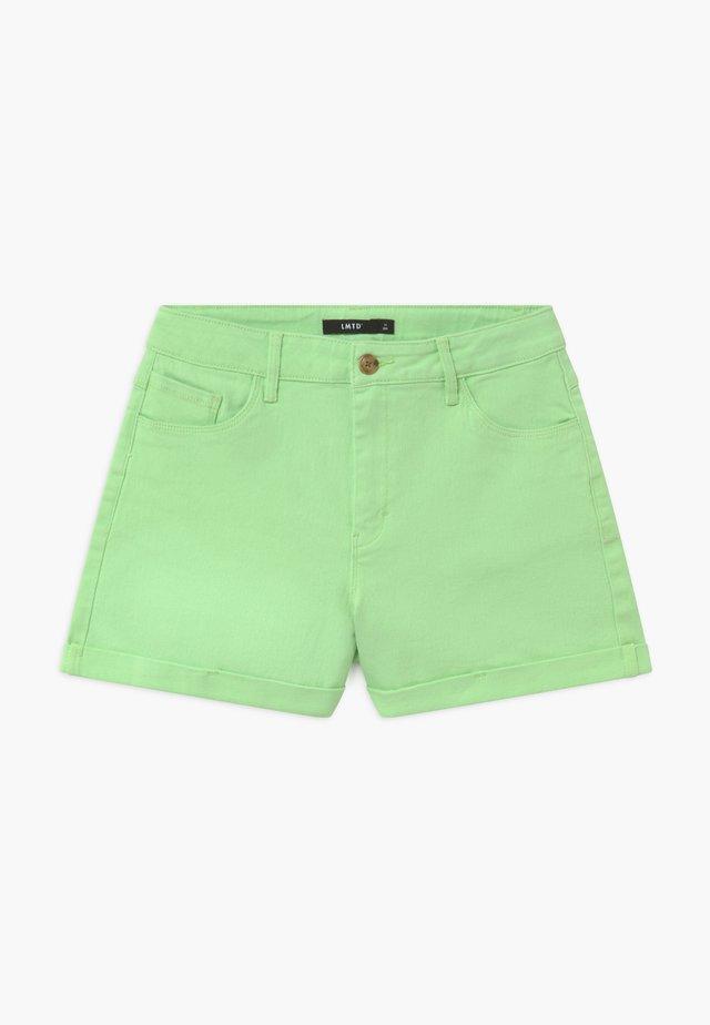 NLFATONES MOM  - Jeans Shorts - paradise green