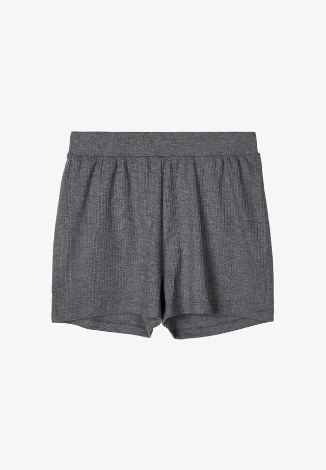 GERIPPTE - Shorts - dark grey melange