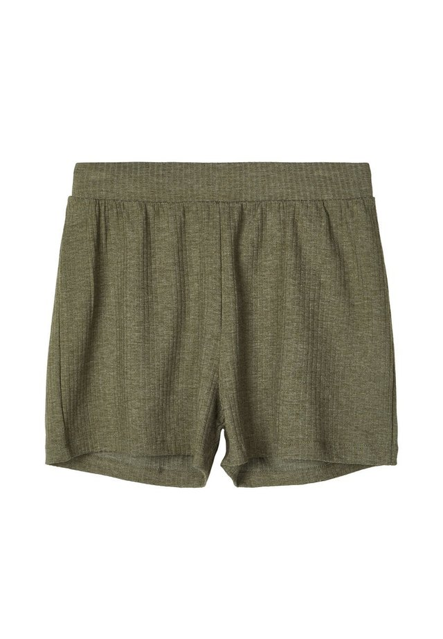 GERIPPTE - Shorts - ivy green