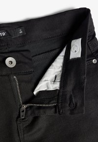 LMTD - BIKER - Shorts di jeans - black denim - 3