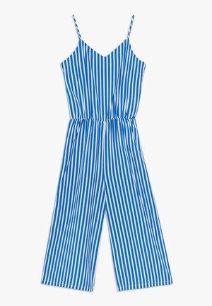 DAYA CULOTTE SUIT - Jumpsuit - dazzling blue/brightwhite