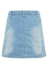 LMTD - Jeansnederdel/ cowboy nederdele - light blue denim