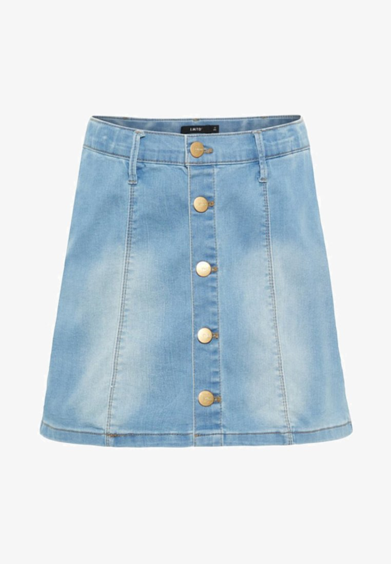 LMTD - Jeansnederdel/ cowboy nederdele - light blue denim