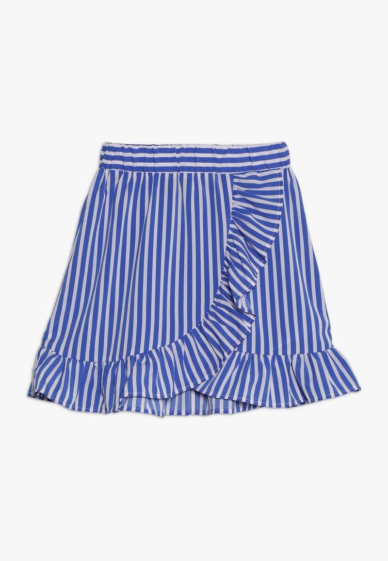 LMTD - NLFKAYA SKIRT - A-linjekjol - dazzling blue/white