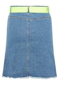 LMTD - A-line skirt - dark blue denim - 1