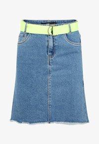 LMTD - A-line skirt - dark blue denim - 0