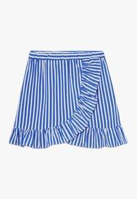 LMTD - SKIRT - Áčková sukně - dazzling blue/bright white - 0