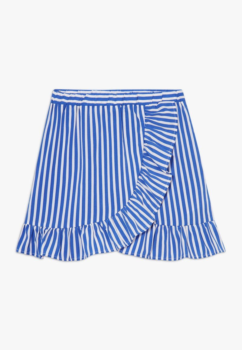 LMTD - SKIRT - Áčková sukně - dazzling blue/bright white
