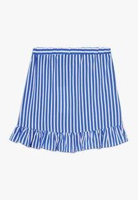 LMTD - SKIRT - Áčková sukně - dazzling blue/bright white - 1