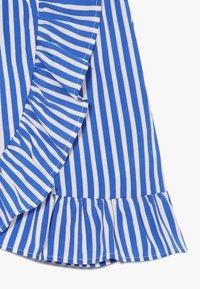 LMTD - SKIRT - Áčková sukně - dazzling blue/bright white - 4