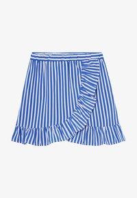 LMTD - SKIRT - Áčková sukně - dazzling blue/bright white - 3