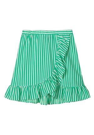 SKIRT - A-lijn rok - green