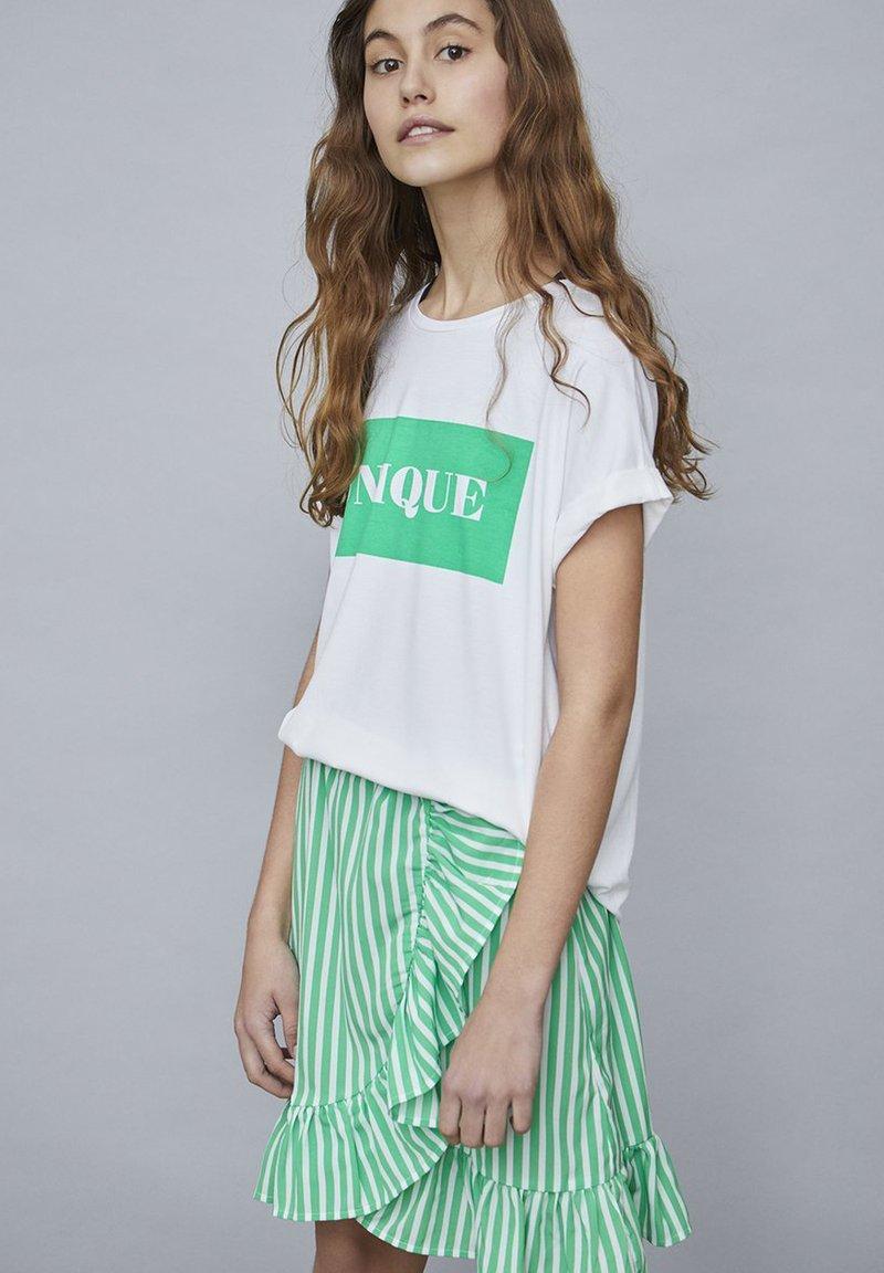 LMTD - SKIRT - A-line skirt - green