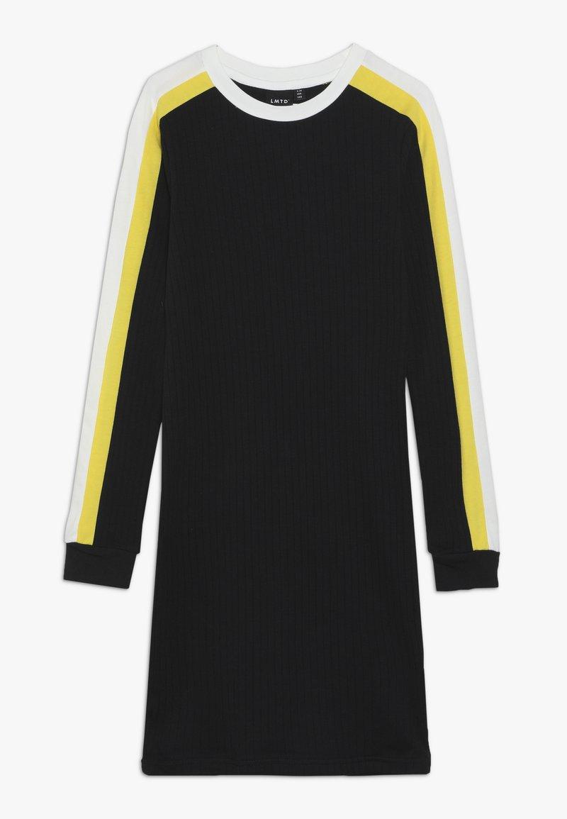 LMTD - NLFNIANA SLIM DRESS - Jerseyklänning - black