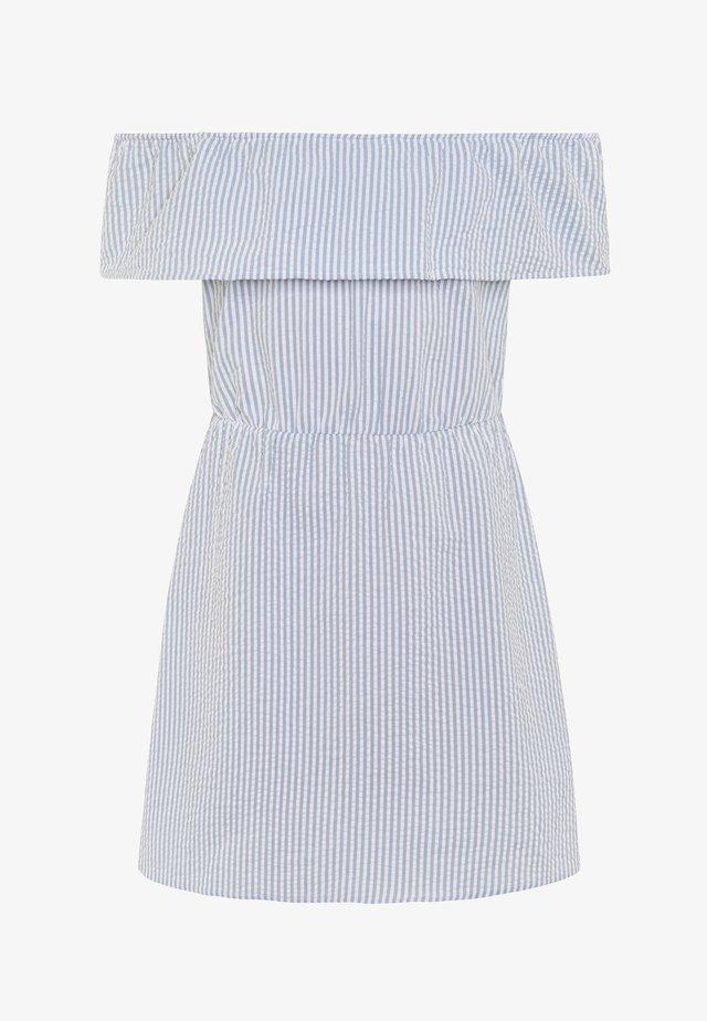 NLFHEER OFFSHOULDER DRESS - Day dress - arona