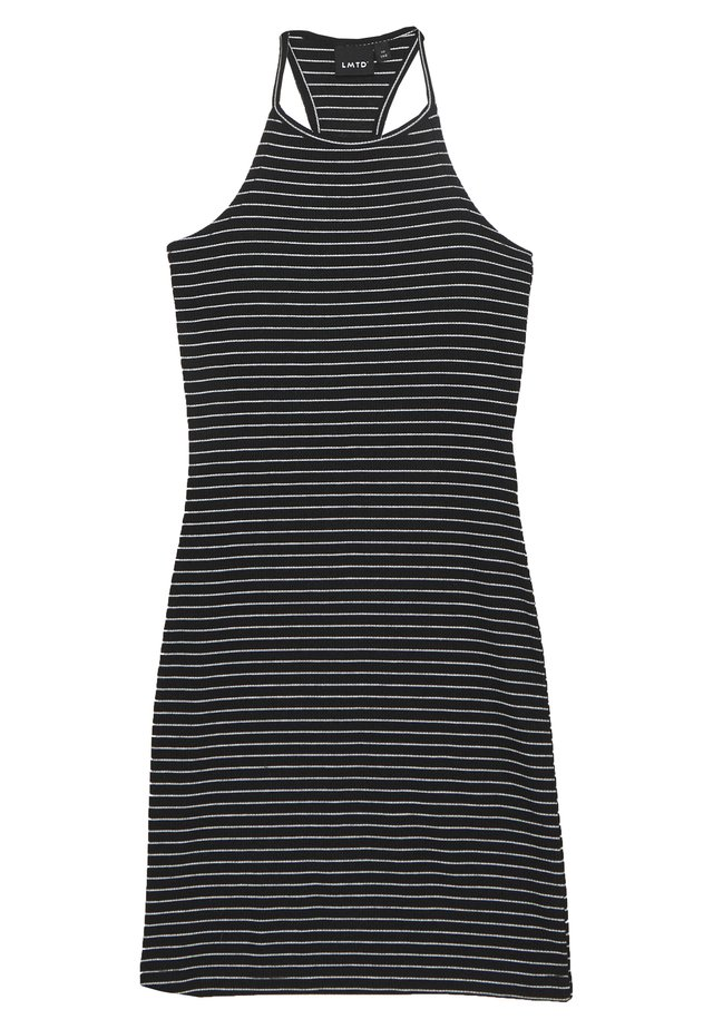 NLFJILY DRESS - Jersey dress - black