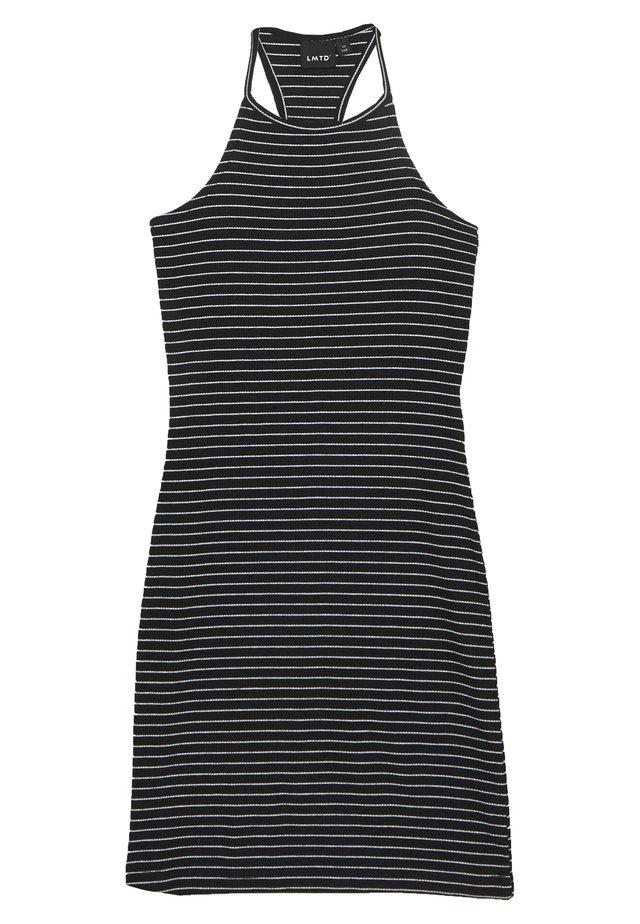 NLFJILY DRESS - Jerseykleid - black