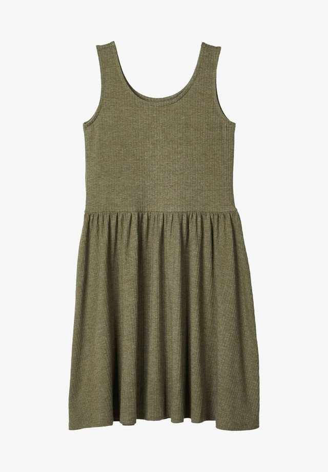 Day dress - ivy green