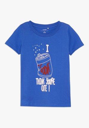 NLFLAVONNE BOX - T-shirt z nadrukiem - dazzling blue