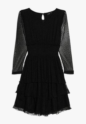 NLFSUE DRESS - Cocktailjurk - black