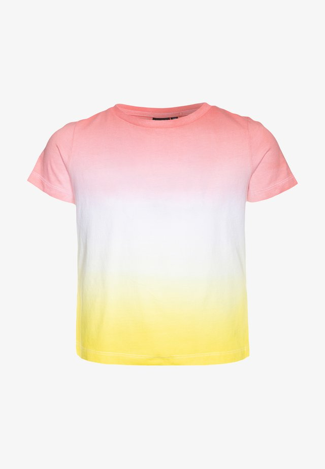 NLFDEMIA - Camiseta estampada - bright white