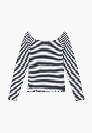 NLFDALLAS LS OFF SHOULDER - Long sleeved top - sky captain