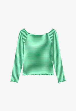 NLFDALLAS LS OFF SHOULDER - Long sleeved top - island green