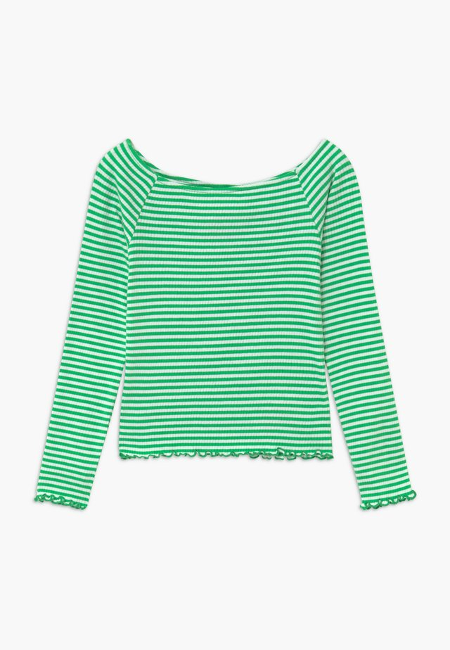 NLFDALLAS LS OFF SHOULDER - Topper langermet - island green