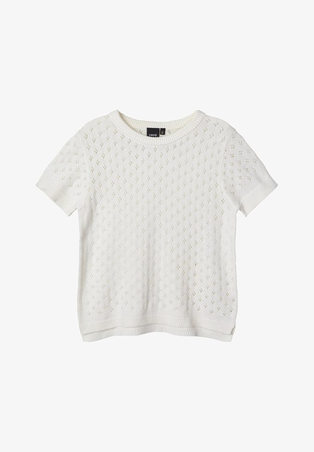 LOCHMUSTER - Camiseta estampada - bright white