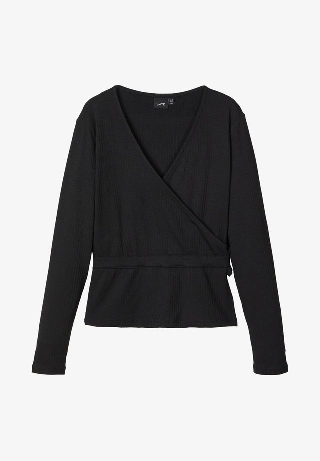OBERTEIL LANGÄRMELIGES  - Långärmad tröja - black