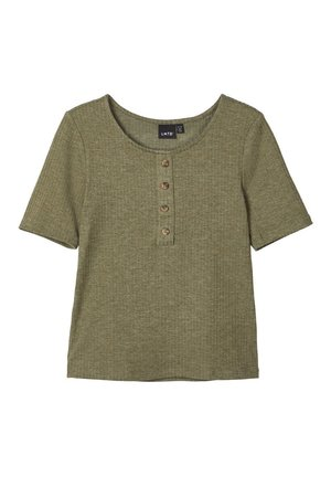 T-shirt print - ivy green