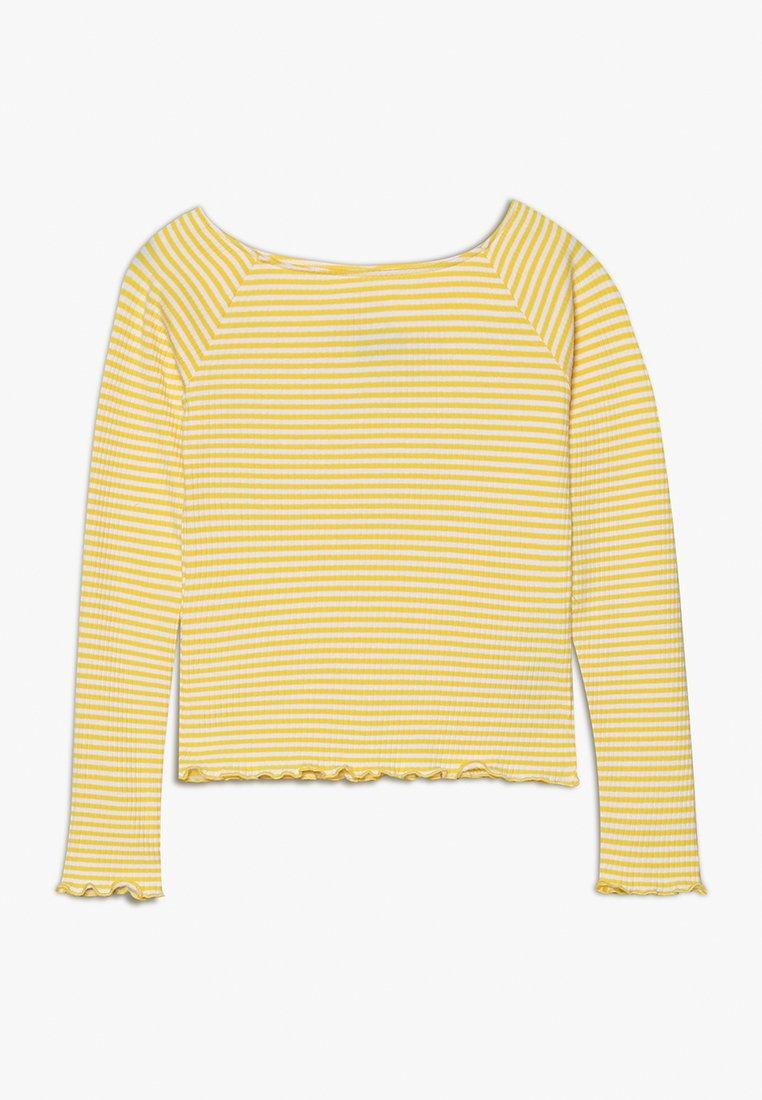 LMTD - NLFDALLASLS OFF SHOULDER - Langærmede T-shirts - primrose yellow