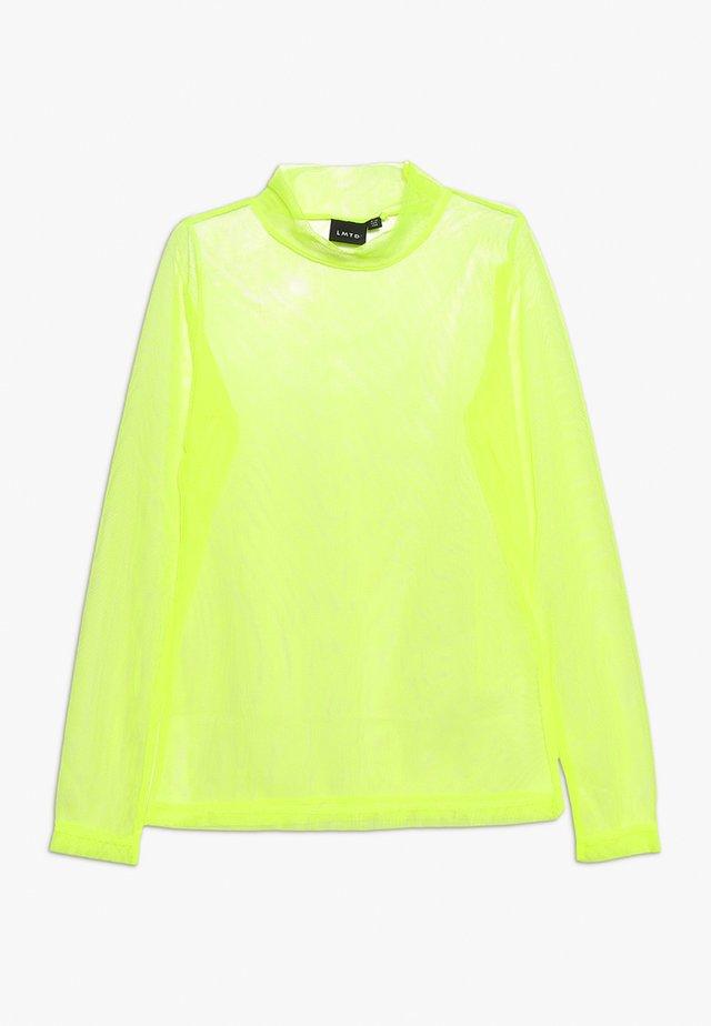 Bluzka z długim rękawem - safety yellow