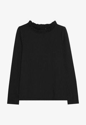 NLFSALENE SLIM  - Pitkähihainen paita - black