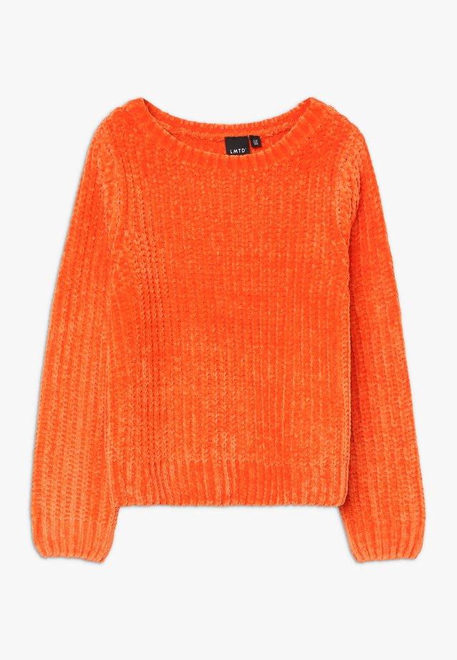 NLFOCAMILLE - Pullover - mandarin orange