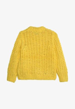 NLFSERLE SHORT - Jumper - primrose yellow