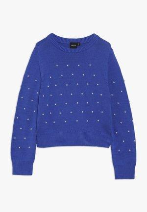 NLFLACOLE - Trui - dazzling blue/white